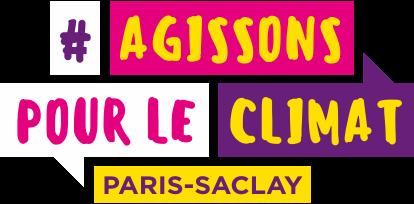 Logo du Plan Climat de Paris-Saclay